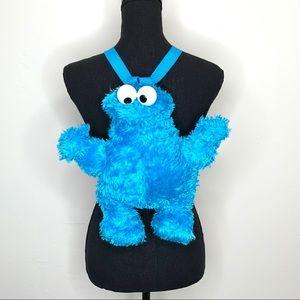 Cookie Monster Kids Plush backpack